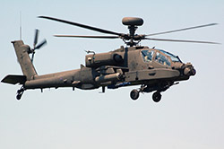 Apache AH-64 Helicopter