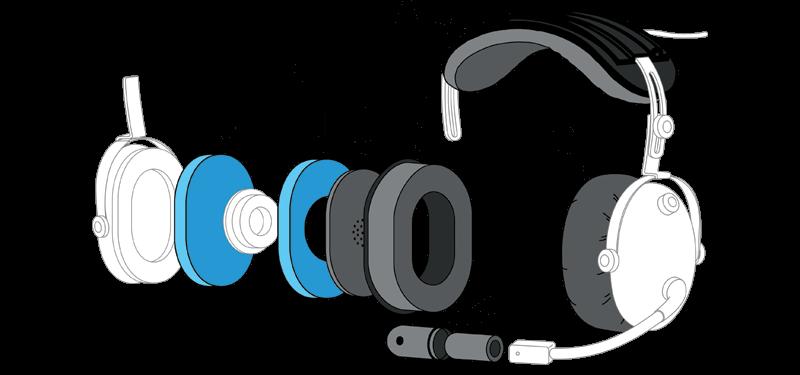 oregon aero aviation headset upgrade overview