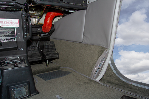 Cessna 210 Interior Upgrade