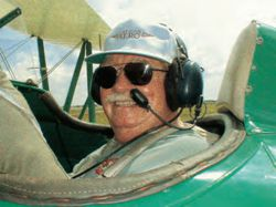 Joe Kittinger With Oregon Aero Headset Upgrade