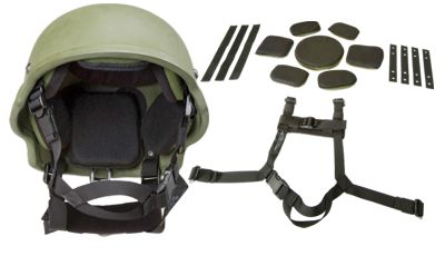 Oregon Aero BLSS Kit with ACH Ballistic Helmet