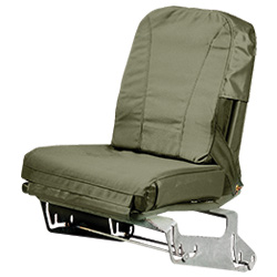 Humvee Drivers Seat Cushion System