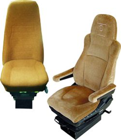 Oregon Aero Truck Seat Cushion Systems