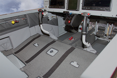 Van's RV-14 Interior