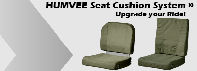 Oregon Aero HUMVEE Seat Cushion System