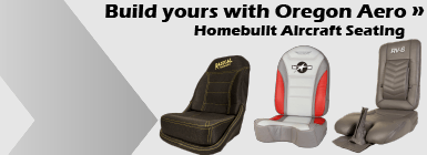 Oregon Aero Homebuilt Seat Cushions
